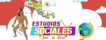 Estudio Sociales 3er a 6to grado