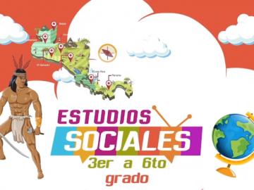 Estudios Sociales 3er a 6to grado