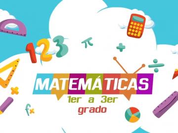 matematiacas 1a3 grado