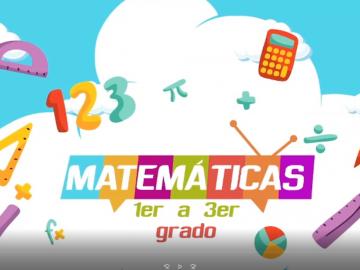 matematicas 1 a 3 grado