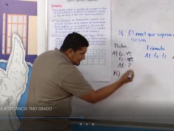 Matematica a distancia en el campo