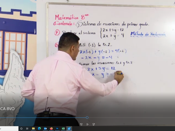 matematica 8vo grado
